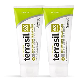 terrasil® Ringworm Treatment MAX - 6x Faster Doctor Recommended  All-natural