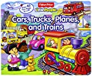 Fisher-Price Little People Lift-the-Flap Cars, Trucks, Planes and Trains, by Nancy L. Rindone