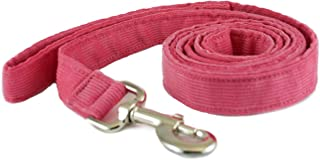 product image for The Good Dog Company Hemp Corduroy Leash - 6 ft (3/4 Inch Width, Pink)