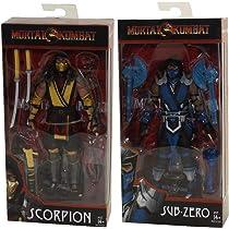 Mortal Kombat X Funko Sub-Zero Action Figure SubZero Figura Accion ~ 13 cm