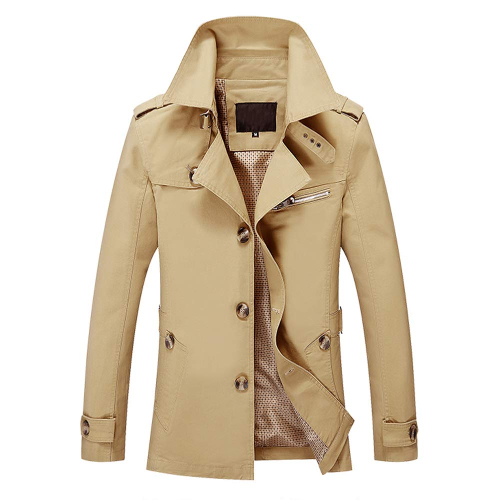 Allthemen Herren Business Jacke Slim Fit Fit Fit Kurzmantel mit Klappkragen B07GWC8NVL Jacken Qualität efe7e3