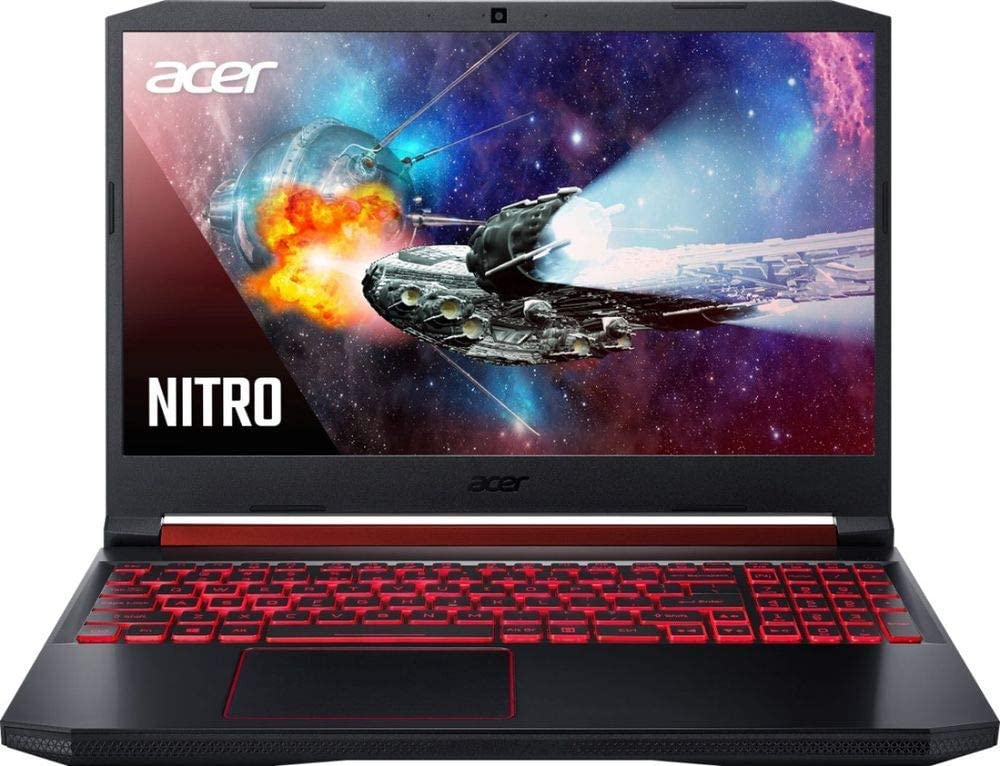 "Acer Nitro 5 AN515-54-51M5-15.6"" - i5-9300H - NVIDIA GTX 1650-8GB - 1TB HDD+128GB SSD (Renewed)"