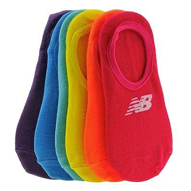 9abfbc16983ea Amazon.com: New Balance Kids Ultra Low No Show Socks, 6 Pair: Shoes
