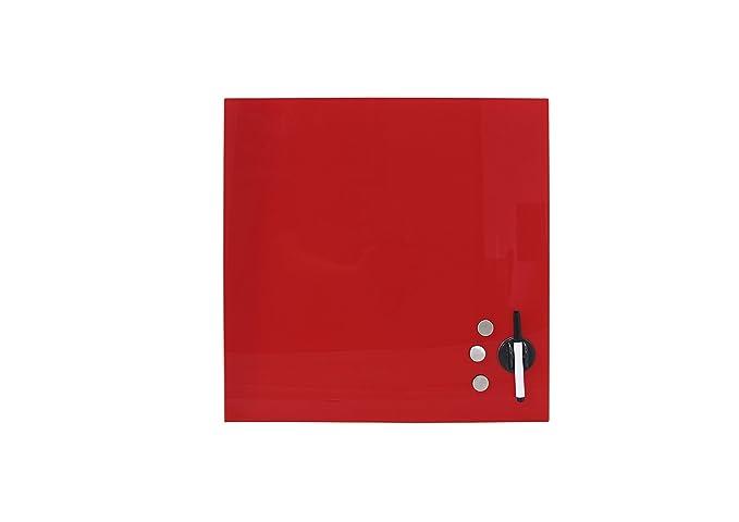 Rapid Teck Memoboard Glas Magnettafel Grün 30cm x 50cm Glastafel inkl Zubehör Glasboard Whiteboard Wandtafel Magnet-Board Bürobedarf & Schreibwaren Präsentationszubehör