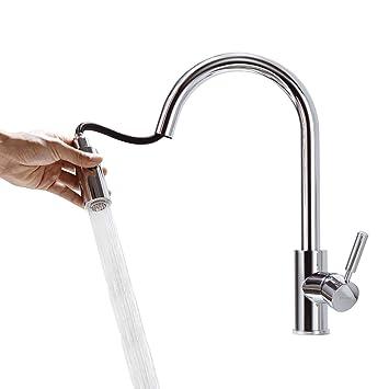 BONADE Küchenarmatur Spültischarmatur Ausziehbar Küche Wasserhahn ...