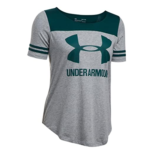 35f242455 Amazon.com: Under Armour Womens UA Sportstyle Baseball Tee: Clothing