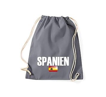 Bolsa de deporte españa País Países Fútbol, color gris ...