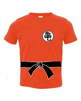 323c62c2 Amazon.com: A Tee Tee Monster Baby Dragon Ball Z Goku Inspired Shirt ...