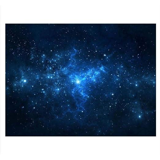 Cartel de Tanque de Peces Acuario Fondo Telón de Fondo de PVC Adhesivo Estrella de Polvo Cielo Estrellado Papel de Decoración Calcomanía ...