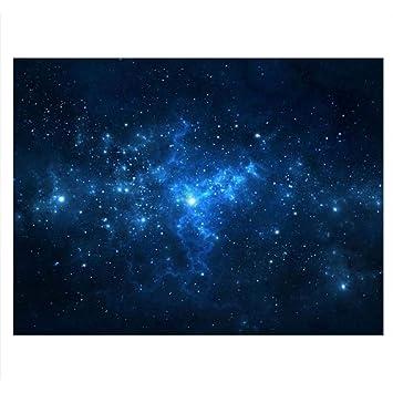 Cartel de Tanque de Peces Acuario Fondo Telón de Fondo de PVC Adhesivo Estrella de Polvo Cielo Estrellado Papel de Decoración Calcomanía Socialme-EU(61 ...
