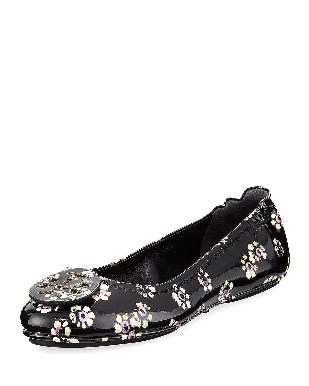 Tory Burch Women's Minnie Patent Leather Travel Ballet Flats B0765T9ZVG 10 B(M) US