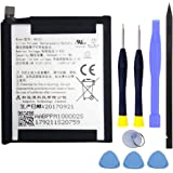 PH-1 Battery,JIE Li-Polymer Battery HE323 Replacement for Essential Phone PH-1 A11 with Repair Kit Tools 3040mAh