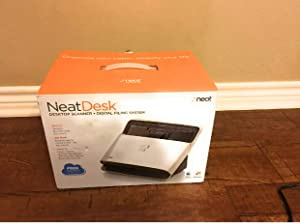 The Neat Company Neatdesk Desktop Scanner Digital Filing System for Pc and Mac