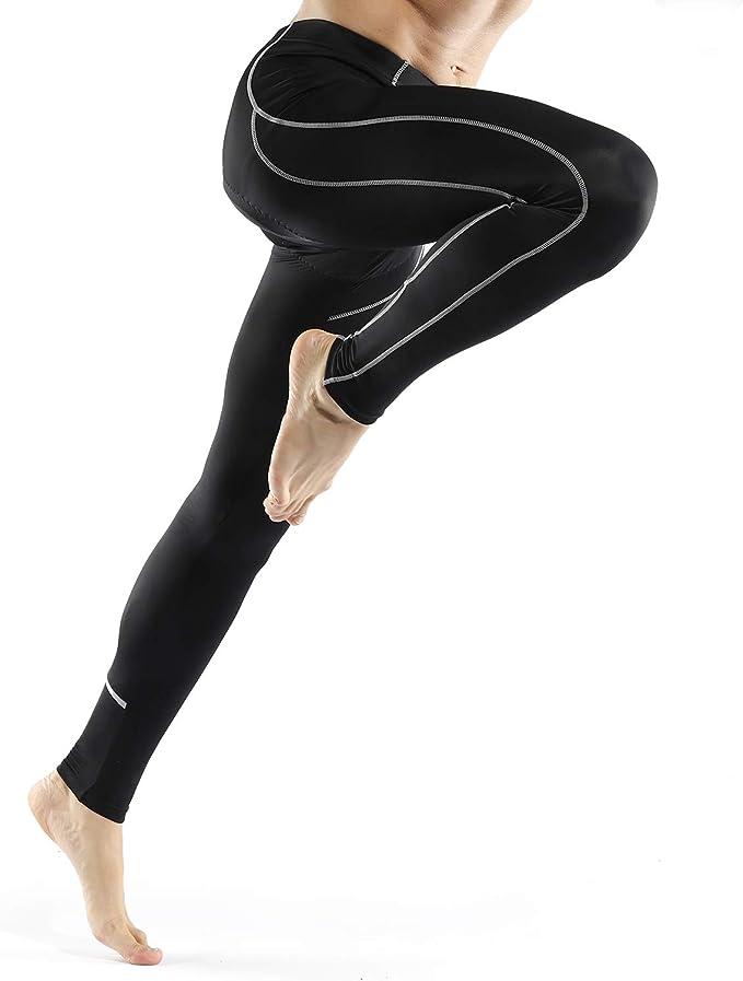 INBIKE Pantalon Compression Homme Sports Pantalons Cyclisme 3D Coussin pour VTT Velo Legging Pantalon Cycliste S/échage Rapide Respirant