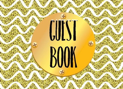 Guest Book: Guest Books For Birthday Parties, Blank Lined Guest Book For Any Aged Birthday, (8.25