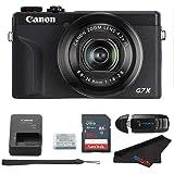 Canon PowerShot G7 X Mark III Digital Camera (Black) + 16GB Memory Card + Memory Card Reader + Pixibytes Microfiber Cleaning