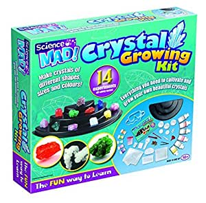 Science mad crystal growing kit by science for Indoor gardening kit green toys