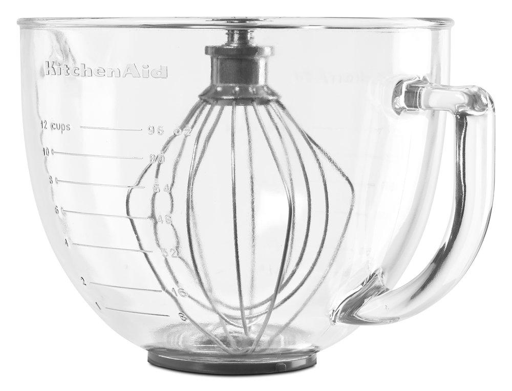 KitchenAid K5GB 5-Qt. Tilt-Head Glass Bowl with Measurement Markings & Lid by KitchenAid (Image #3)