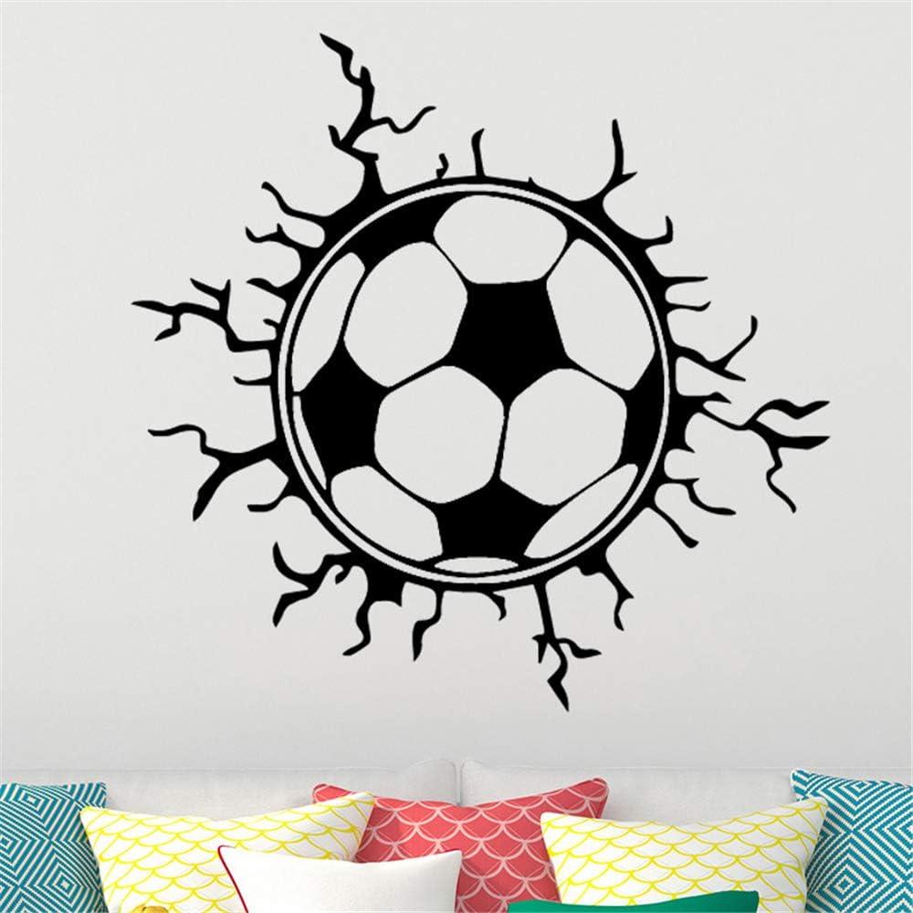 Fútbol creativo Balón de fútbol etiqueta de la pared niños niños ...