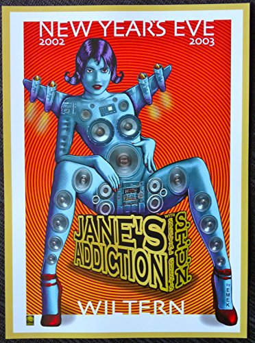 Jane's Addiction - Live at the Wiltern - New Year's Eve 2003 - Concert Gig Mini Poster
