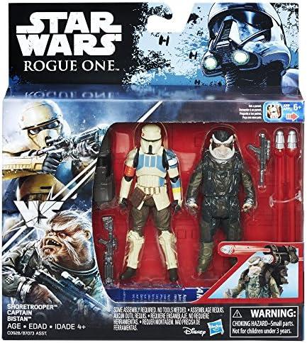 Star Wars Rogue One shoretrooper capitaine et BISTAN