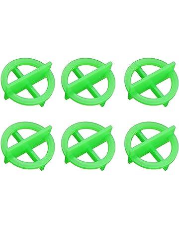 Yardwe Clips del Sistema de nivelación de Azulejos Green Cross Tile Leveling Azulejo del Sistema de