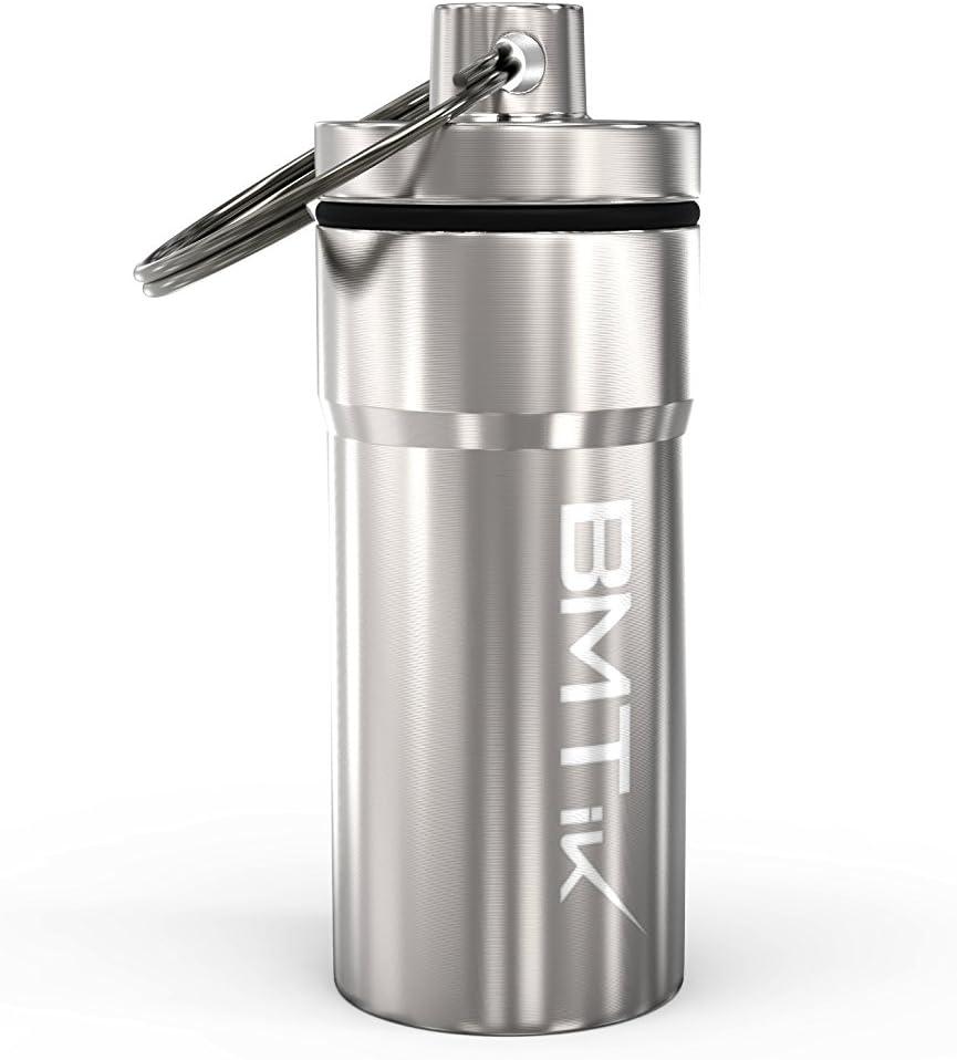 Sac de cendrier de Poche pour Le Camping ext/érieur en int/érieur Noir Androxeda Mini cendrier Portable avec Porte-cl/és