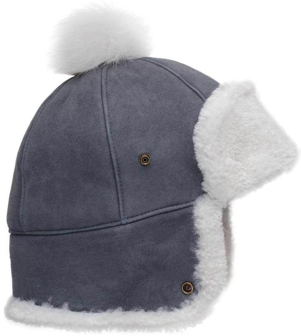 UGG Womens Sheepskin Pom Hat In Norse Curly