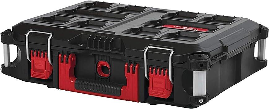 Milwaukee 932464080 Packout 4932464080-Caja de Herramientas (tamaño 3), Rojo: Amazon.es: Bricolaje y herramientas