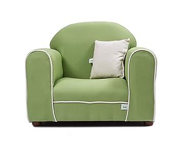 Keet Premium Organic Childrenu0027s Chair, Green