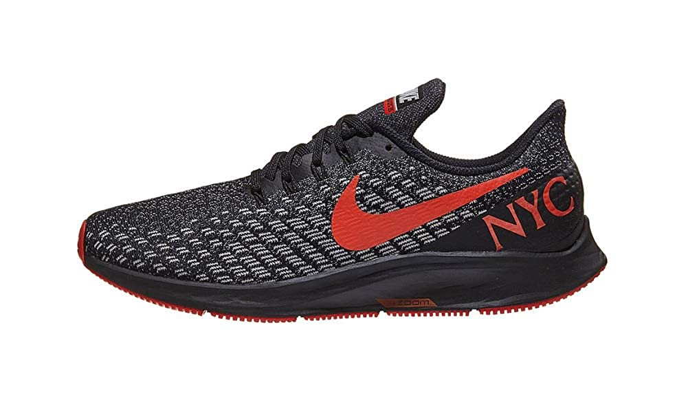 6f7860675681 Amazon.com | Nike Mens Air Zoom Pegasus 35 Black/Habanero Red BV5484 001 |  Trail Running