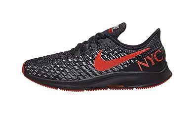 1a6fc23c395 Nike Mens Air Zoom Pegasus 35 Black Habanero Red BV5484 001 (US 9)
