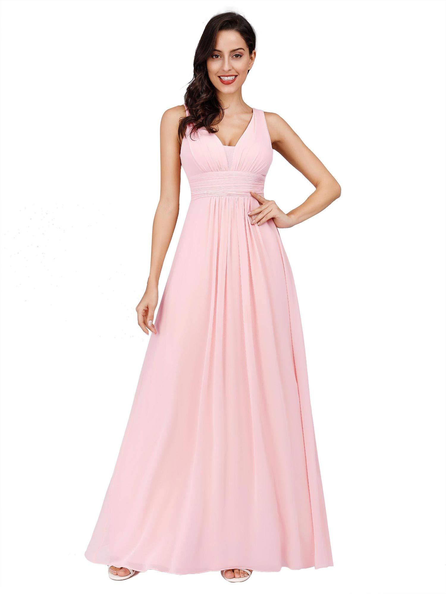 Ever-Pretty Escote en V Vestido de Fiesta Noche Largo para Mujer Corte Imperio 08110 product image