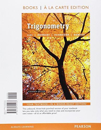 Trigonometry (Looseleaf)