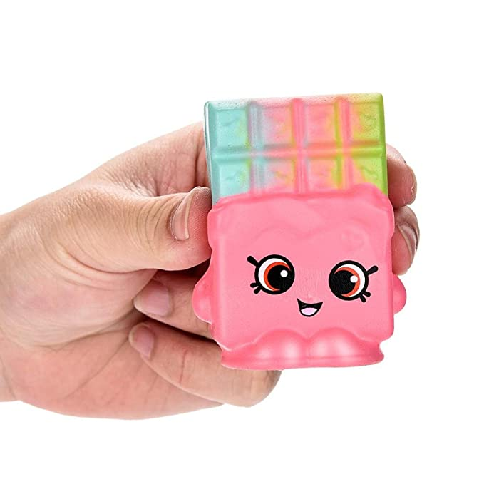 Rosado 3 JiaMeng Juguetes de descompresi/ón 2018,Beautiful Color Mixing Cloud Slime Squishy Putty Scented Stress Kids Clay Toy