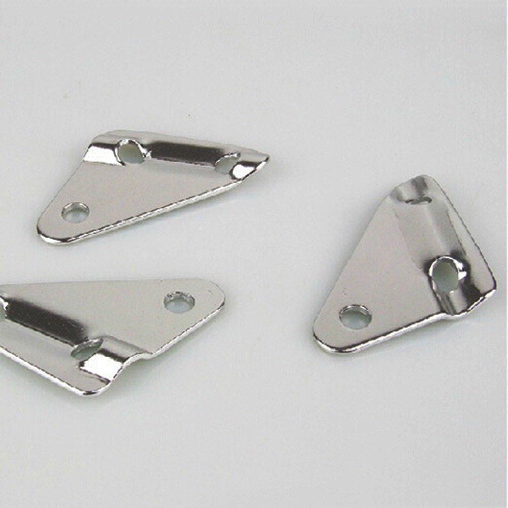 con 3/orificios Tensor 8/mm tres orificios Tensor accesorio para camping tienda 10/pieza Plata soccik Tri/ángulo Tensor tienda Lino