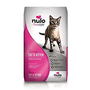Nulo Freestyle Chicken & Cod Recipe Grain-Free Dry Cat & Kitten Food