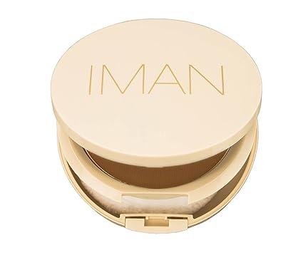 Iman Cosmetics polvos compacte sébo-absorbante Deep