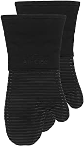 All-Clad Textiles Oven Mitt, 2 Pack, Black