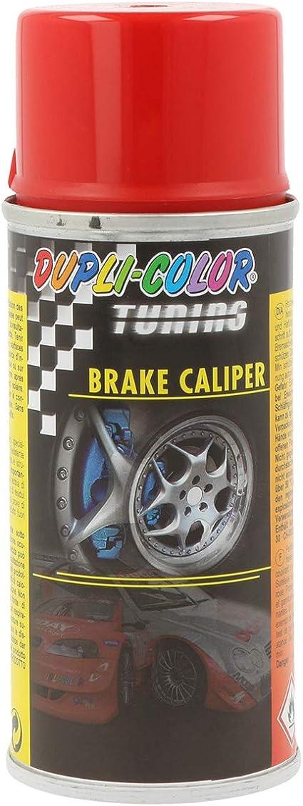 Dupli Color 706080 Tuning Lackspray Bremssattellack Brake Calipper Spray Rot 150 Ml Rot Auto