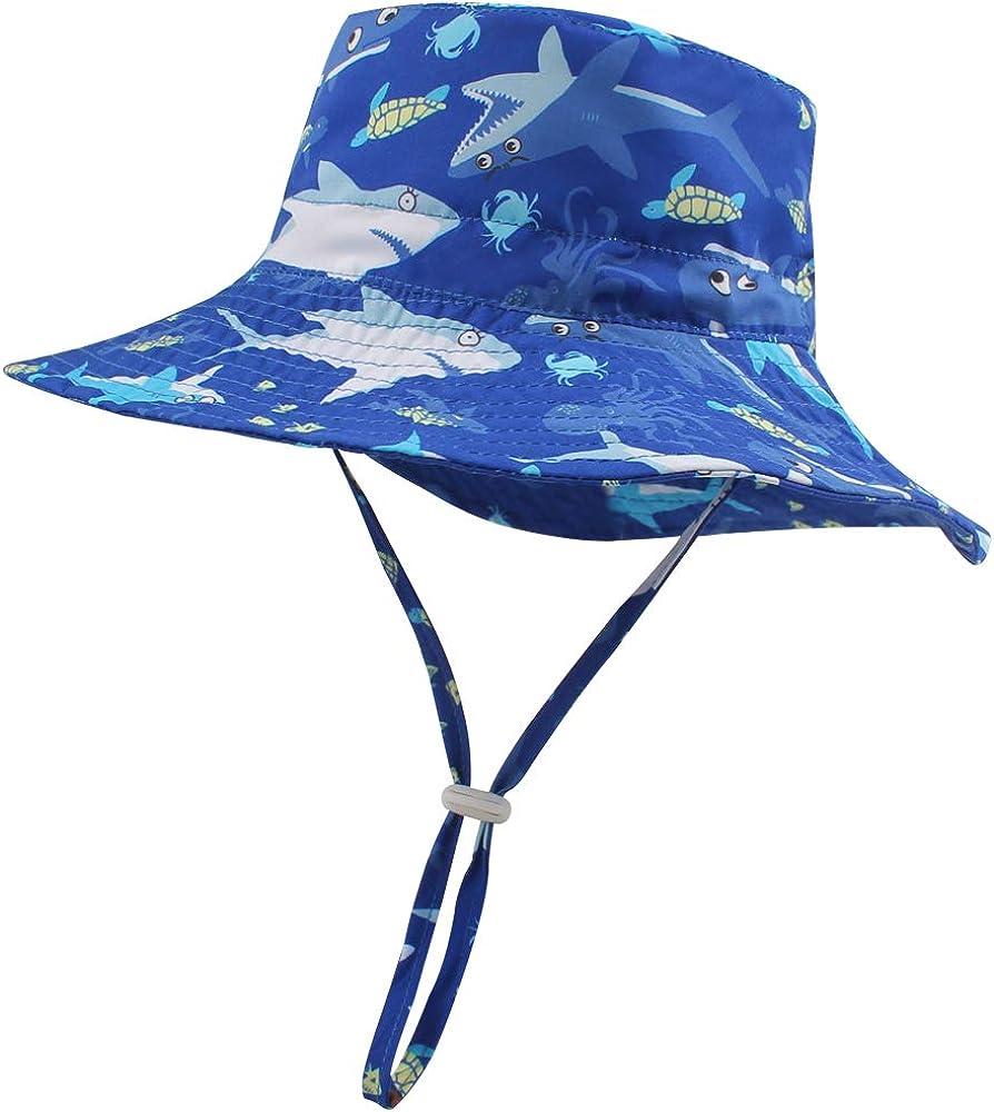 Baby Girls Floppy Sun Hat Boys Toddler Outdoor Waterproof Cap for Summer Beach Adventure 0-7T