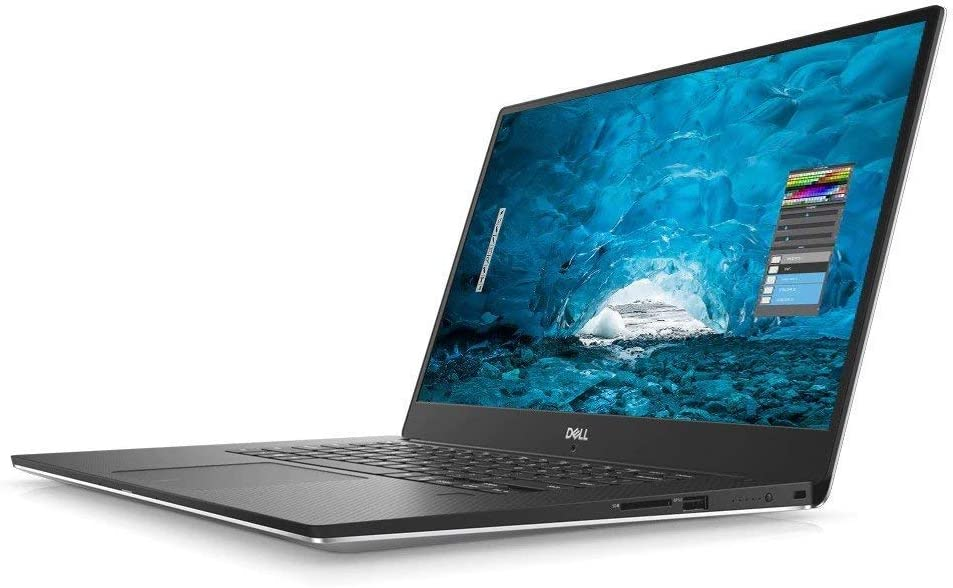 "Dell XPS 9570 15.6"" FHD i7-8750H 16GB RAM 512GB SSD GeForce GTX 1050Ti Silver Windows 10 Pro"