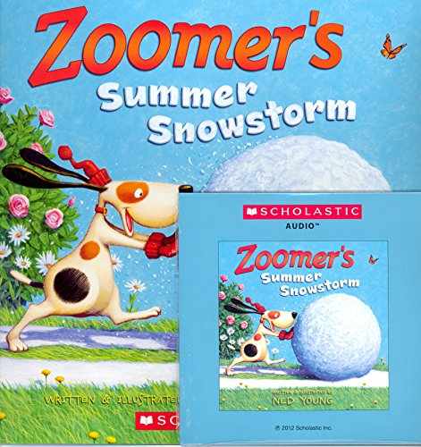 Zoomer's Summer Snowstorm (Paperback and Audio CD)
