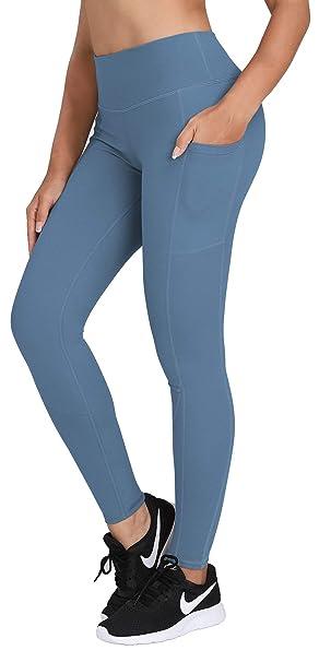 Amazon.com: HOFI Pantalones de yoga de cintura alta para ...