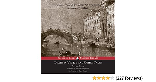 Amazon Death In Venice And Other Tales Audible Audio Edition