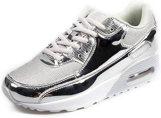 Zapatillas De Deporte Mujer Zapatillas Negras Zapatillas De AmortiguacióN De Aire Zapatillas De Deporte De Mujer Zapatillas De Deporte Ligeras Antideslizantes: Amazon.es: Zapatos y complementos