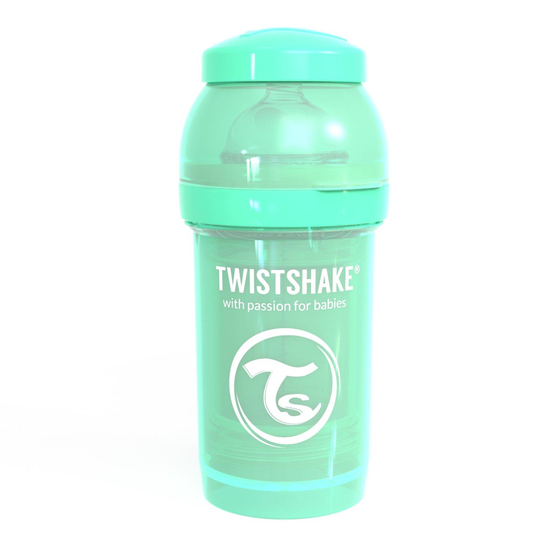 Twistshake 78251 - Biberón, color pastel verde