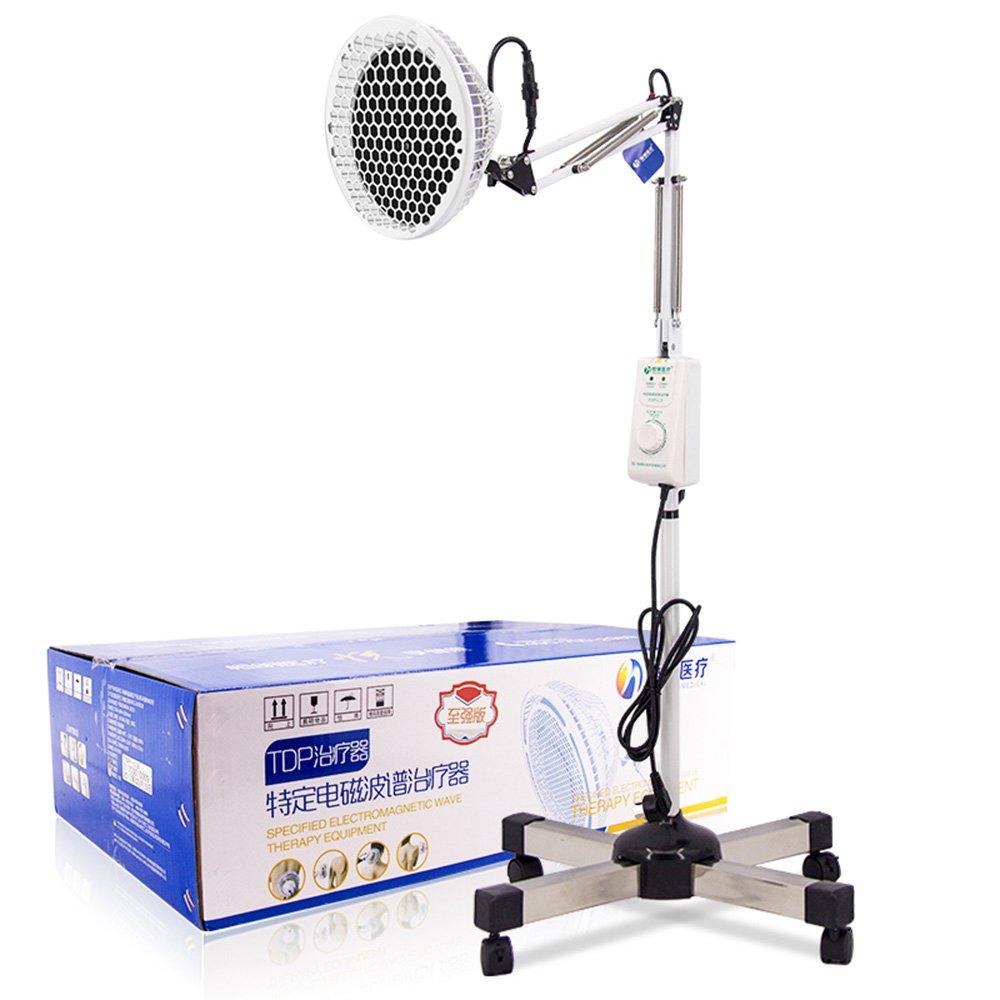 ZHIRONG TDP理学療法ライト、家庭用多機能電磁波治療装置、関節リウマチ腰部理学療法器具ランプ遠赤外線電気ヒートランプ、 B07F7PHGSR