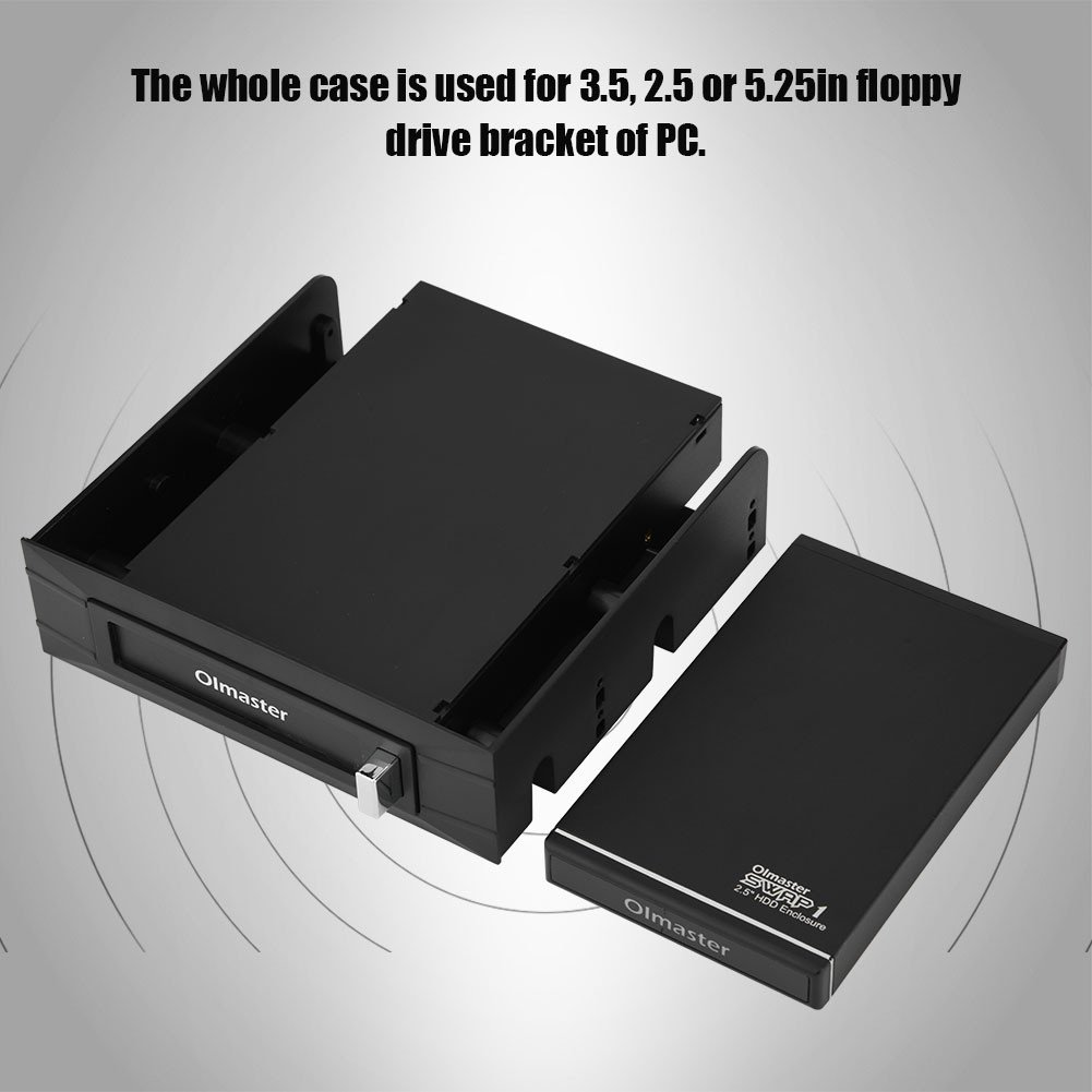Amazon.com: richer-r HDD Case Enclosure, olmaster USB3.0 HDD ...