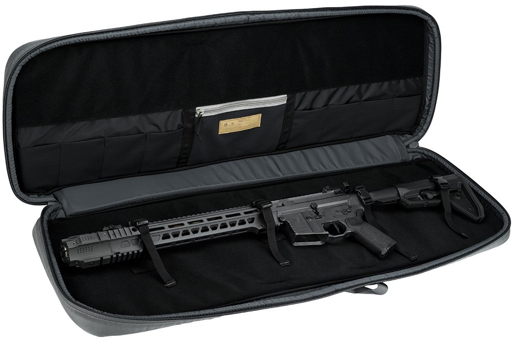 Evike Salient Arms International x Malterra Tactical Rifle Bag - Grey - (60930) by Evike (Image #5)